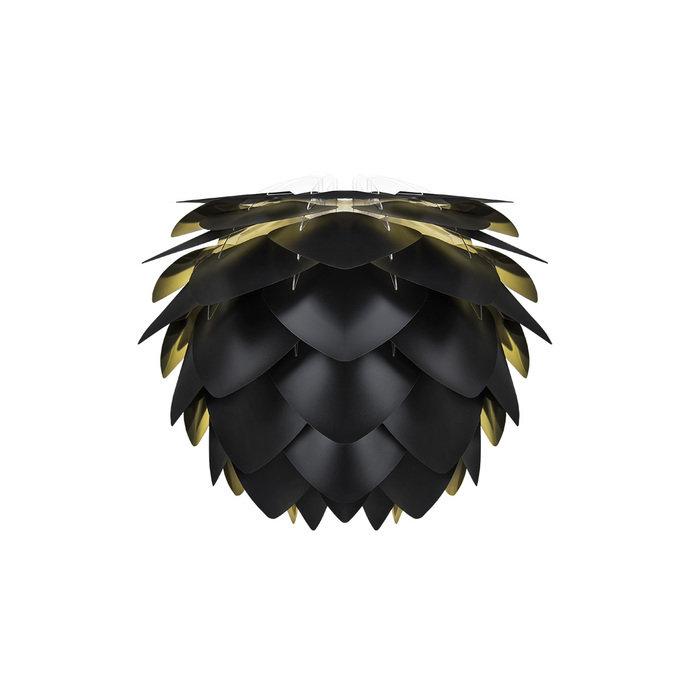 Плафон Silvia black & gold черного цвета