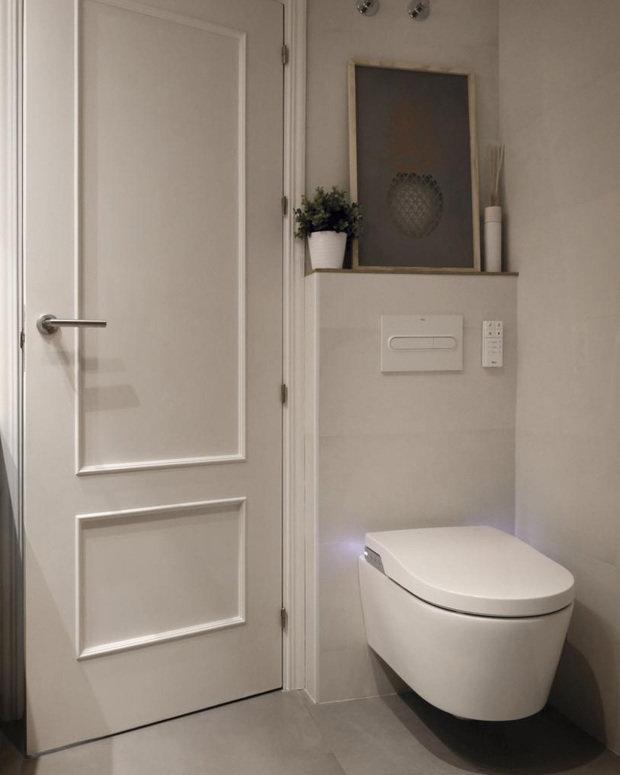 Фотография: Ванная в стиле Современный, LAUFEN, Roca, сантехника для ванной комнаты, как экономить воду, Экология, умная сантехника, унитаз-биде – фото на INMYROOM