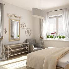 Фотография: Спальня в стиле , Лофт, Декор интерьера, Квартира, Дома и квартиры, Проект недели, Надя Зотова – фото на InMyRoom.ru