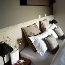Фотография: Спальня в стиле Современный, Восточный, Ванная, Дом, Дома и квартиры, Городские места – фото на InMyRoom.ru