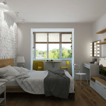 Фото из портфолио IKEA рулит! Бюджетная квартира – фотографии дизайна интерьеров на InMyRoom.ru