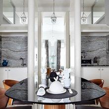 Фотография: Кухня и столовая в стиле Эклектика, Квартира, Дома и квартиры, Перепланировка – фото на InMyRoom.ru
