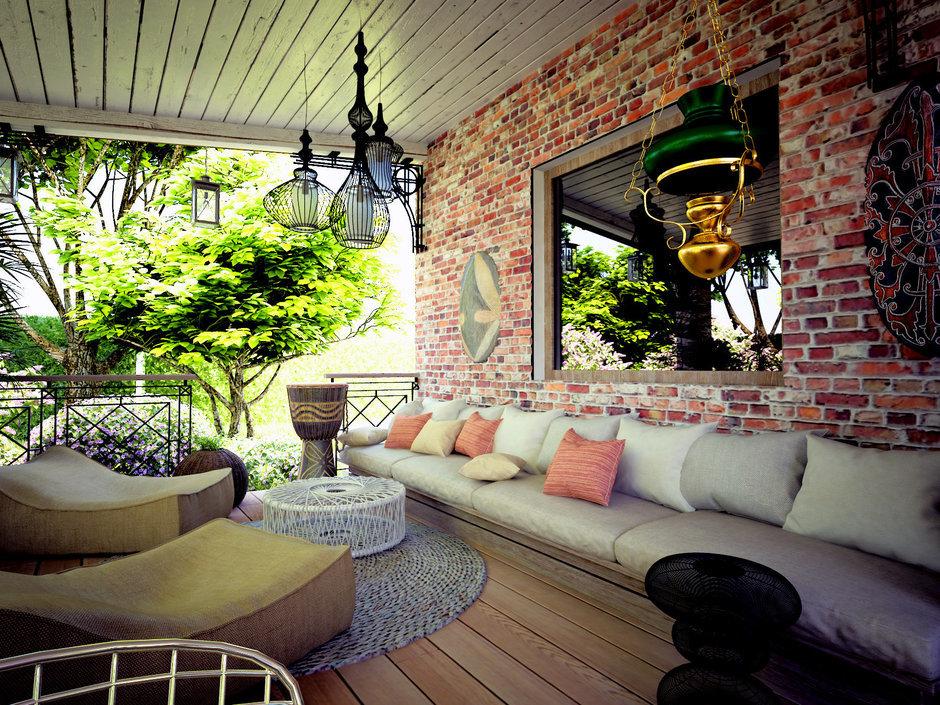 Фотография: Балкон, Терраса в стиле Прованс и Кантри, Квартира, Дом, Дома и квартиры, Проект недели – фото на InMyRoom.ru