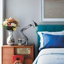 Фотография: Спальня в стиле Кантри, Декор интерьера, Дом, Дизайн интерьера, Цвет в интерьере – фото на InMyRoom.ru