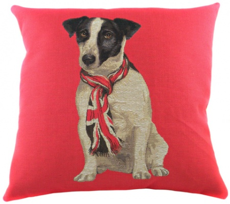 Подушка с британским флагом Jack Russel