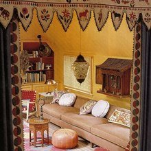 Фотография: Гостиная в стиле Кантри, Современный, Восточный – фото на InMyRoom.ru