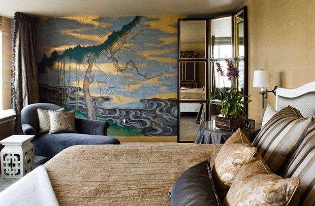 Фотография: Спальня в стиле Восточный, Квартира, Мебель и свет, Советы, Ремонт на практике – фото на InMyRoom.ru