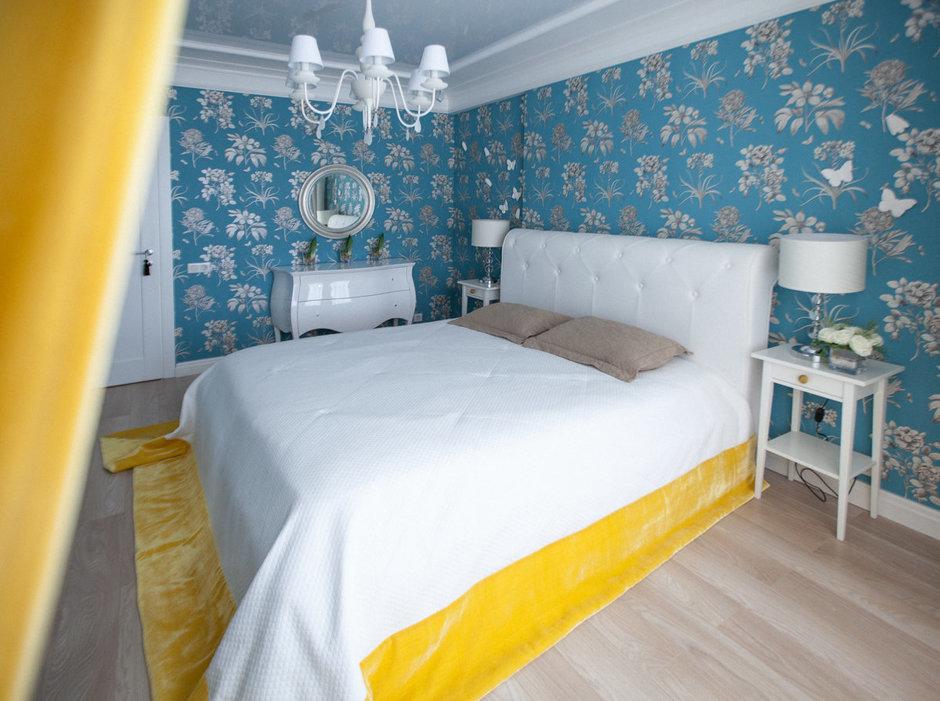 Фотография: Спальня в стиле , Эклектика, Интерьер комнат, Проект недели – фото на InMyRoom.ru