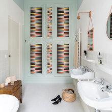 Фотография: Ванная в стиле Скандинавский, Дом, Франция, Дом и дача – фото на InMyRoom.ru