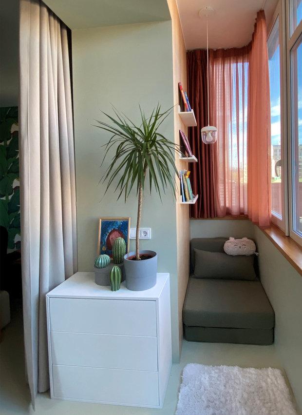 Фотография: Балкон в стиле Современный, Квартира, Советы, Samsung, 1 комната, до 40 метров, Монолитно-кирпичный, the frame – фото на INMYROOM