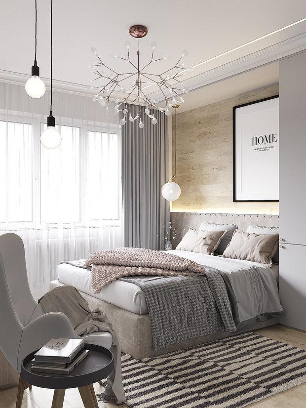 Фотография: Спальня в стиле Скандинавский, Современный, Декор интерьера, Советы, Cartelle Design – фото на InMyRoom.ru