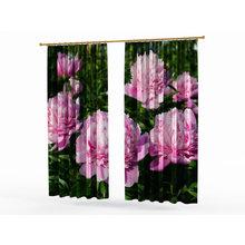 Шторы с цветами: Восхитительные пионы