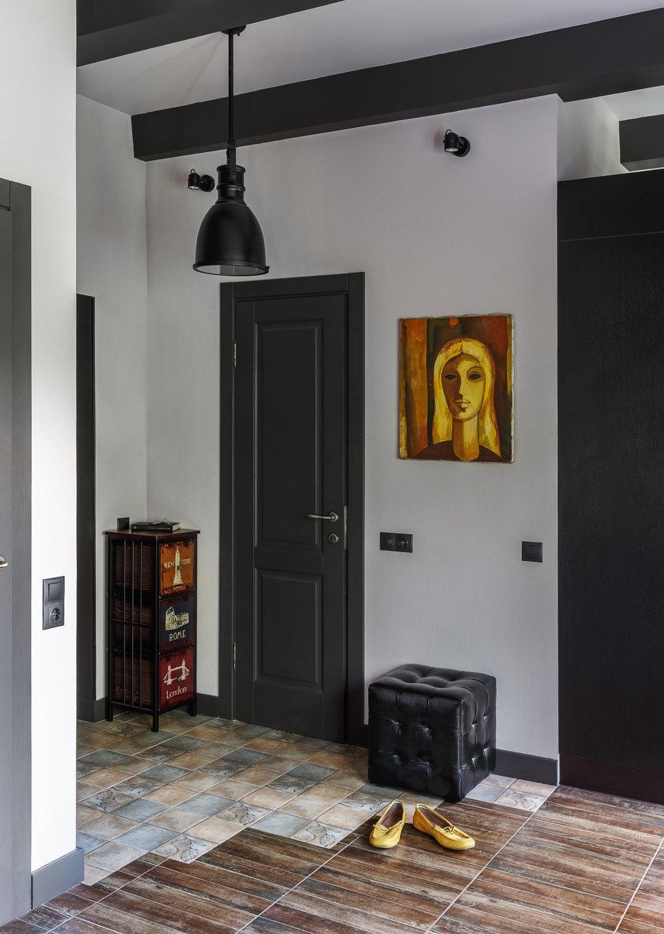 Фотография: Прихожая в стиле Лофт, Малогабаритная квартира, Квартира, Студия, Проект недели, Москва, Марина Саркисян, Кирпичный дом, до 40 метров – фото на InMyRoom.ru