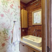 Фотография: Ванная в стиле Кантри, Декор интерьера, Квартира, Дома и квартиры, Илья Хомяков, Стена – фото на InMyRoom.ru