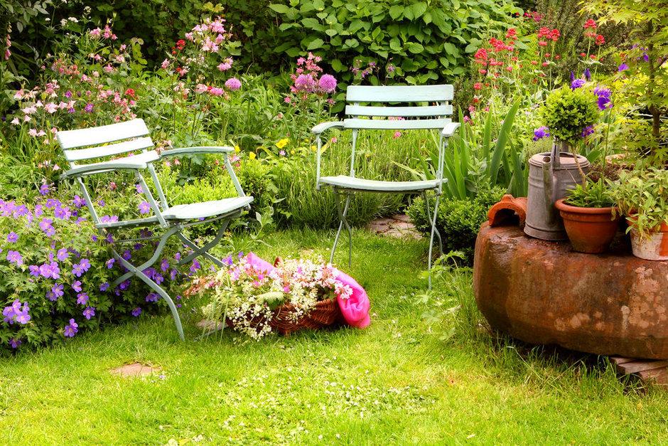 Фотография: Ландшафт в стиле , Стиль жизни, Дача, Сад – фото на InMyRoom.ru