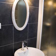 Фотография: Ванная в стиле Кантри, Скандинавский, Интерьер комнат, Прованс – фото на InMyRoom.ru