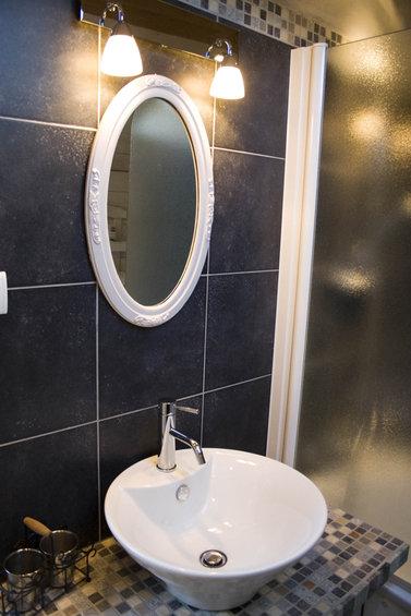 Фотография: Ванная в стиле Прованс и Кантри, Скандинавский, Интерьер комнат, Прованс – фото на InMyRoom.ru