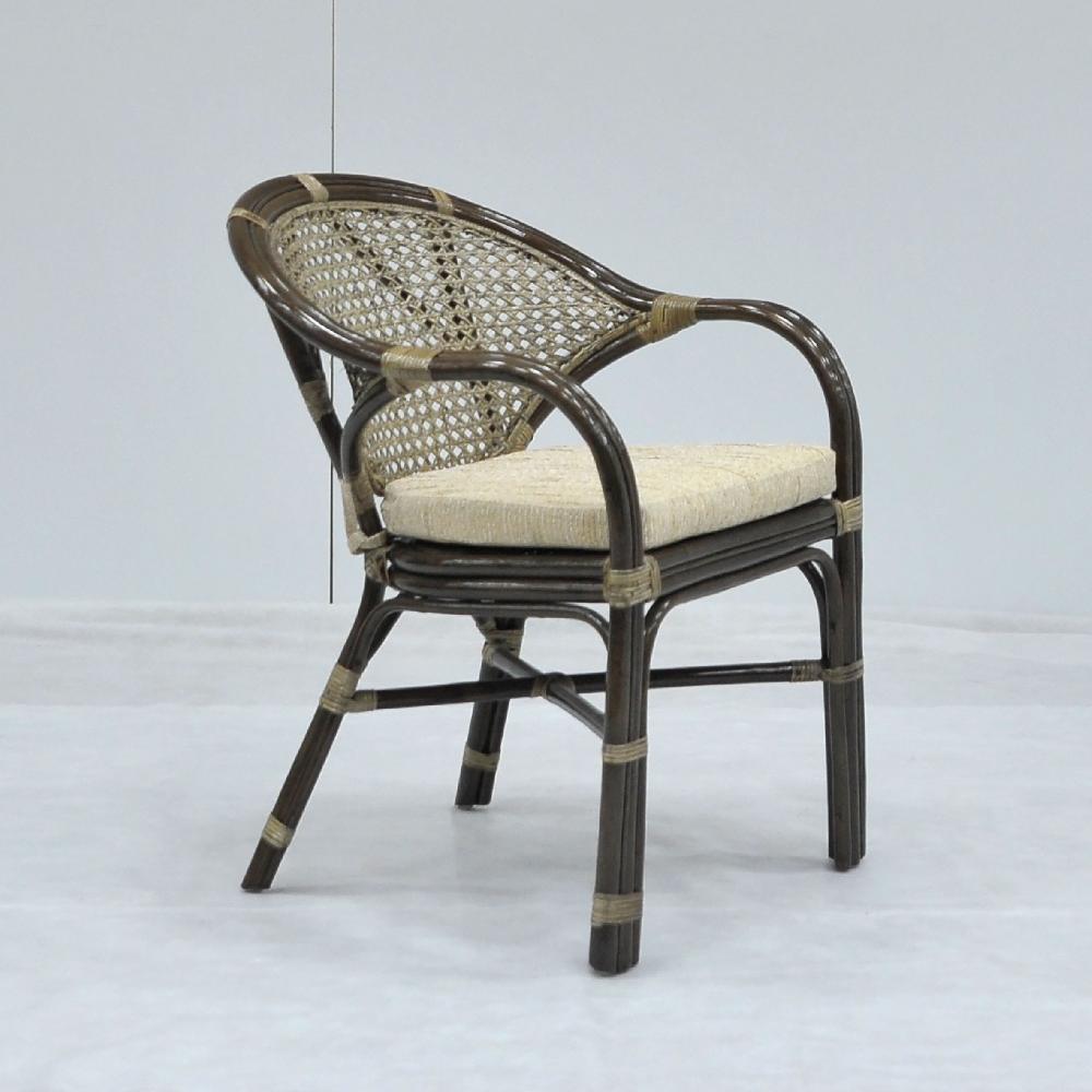 Кресло Java из натурального ротанга с ажурным плетением