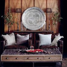 Фотография: Гостиная в стиле Кантри, Декор интерьера, Мебель и свет, Декор дома – фото на InMyRoom.ru
