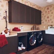 Фотография: Ванная в стиле Кантри, Малогабаритная квартира, Квартира, Дома и квартиры – фото на InMyRoom.ru