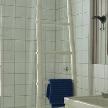 Фотография: Декор в стиле , Ванная, Интерьер комнат, Цвет в интерьере, Белый, Проект недели – фото на InMyRoom.ru