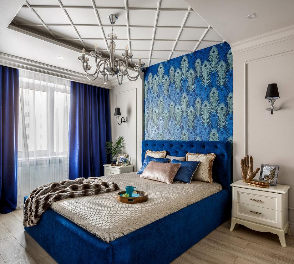Фотография: Спальня в стиле Современный, Квартира, Проект недели, Монолитный дом, 3 комнаты, 60-90 метров, Саратов, Quadrum Studio – фото на InMyRoom.ru