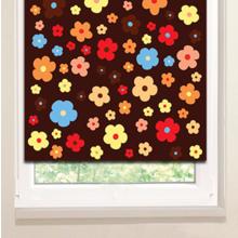 Рулонные шторы: Россыпь цветов