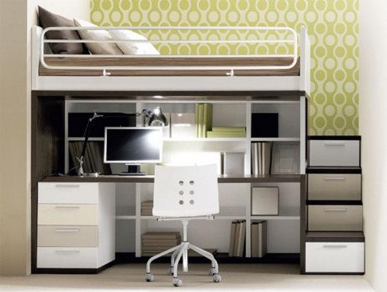 Фотография: Кабинет в стиле Современный, Декор интерьера, Малогабаритная квартира, Квартира, Дома и квартиры – фото на InMyRoom.ru