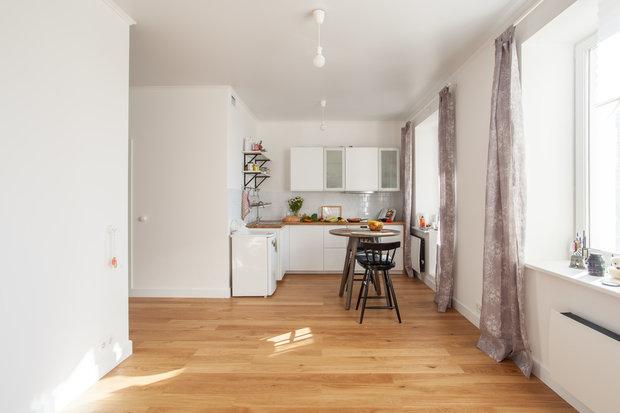 Фотография: Кухня и столовая в стиле Минимализм, Интервью, Сделано, Илья Шаргаев, Полина Филиппова – фото на INMYROOM