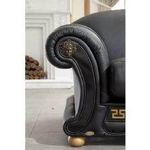 """Диван-кровать """"Versace""""  черный"""