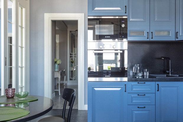 Фото из портфолио Трех-комнатная квартира в Алматы – фотографии дизайна интерьеров на INMYROOM