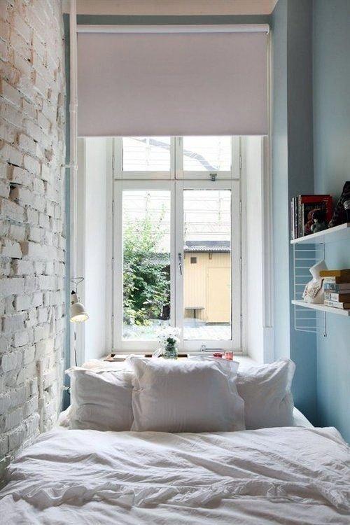 Фотография: Спальня в стиле Лофт, Малогабаритная квартира, Квартира, Советы – фото на InMyRoom.ru