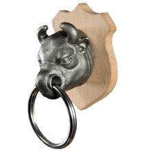Держатель для ключей с брелком bull