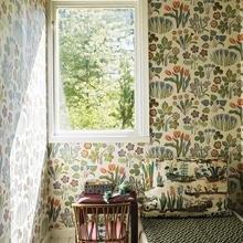 Фото из портфолио Цветочные обои: каждой комнате свой наряд – фотографии дизайна интерьеров на INMYROOM