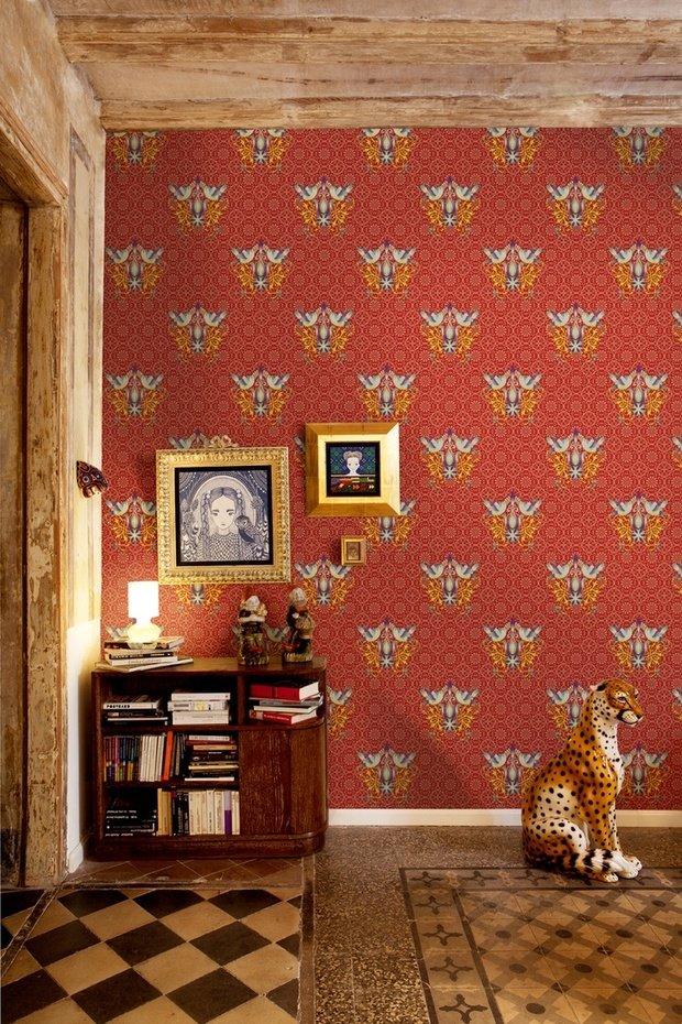 Фотография: Декор в стиле Прованс и Кантри, Эклектика, Декор интерьера, Дом, Декор дома, Цвет в интерьере – фото на InMyRoom.ru