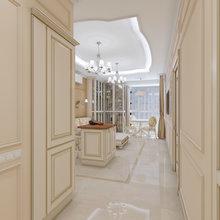 Фото из портфолио дизанй-проект квартиры – фотографии дизайна интерьеров на InMyRoom.ru