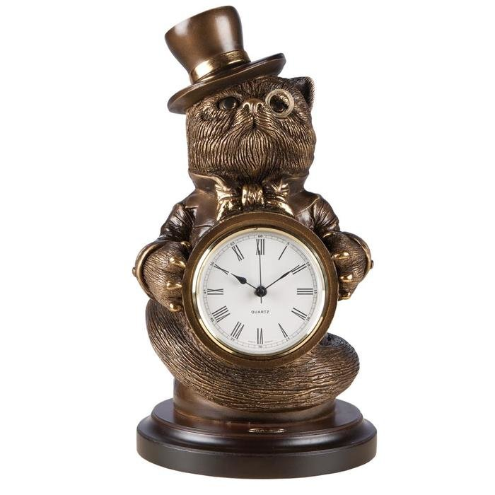 Часы Чеширский кот