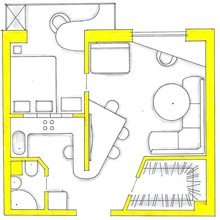 Фото из портфолио Мои перепланировки – фотографии дизайна интерьеров на InMyRoom.ru