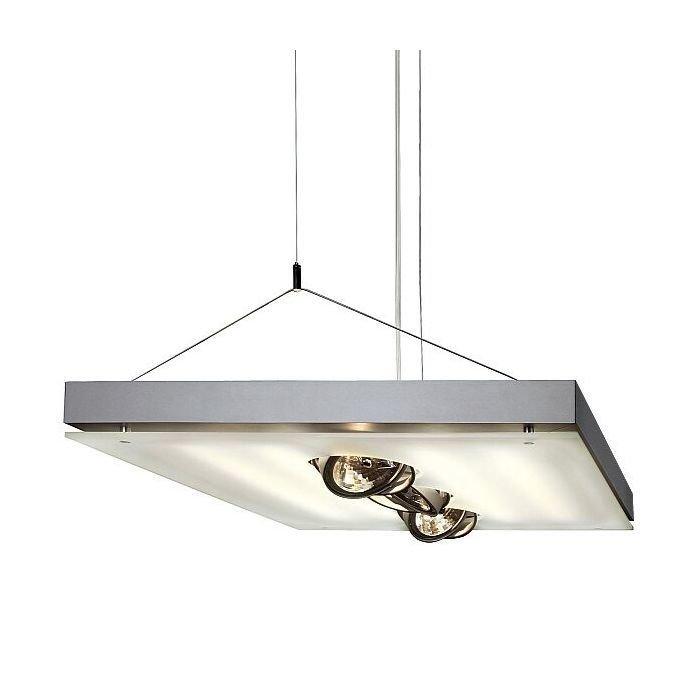 Светильник подвесной SLV Grill серебристый / белый