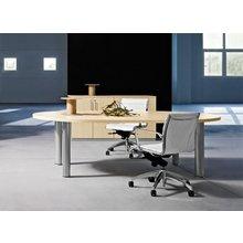 Дизайнерский стол Sigma для переговоров овальный