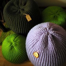 Фото из портфолио Вязаные пуфики Kozaa's Bags – фотографии дизайна интерьеров на InMyRoom.ru