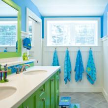 Фото из портфолио 10 способов добавить цвет в вашу ванную комнату – фотографии дизайна интерьеров на InMyRoom.ru