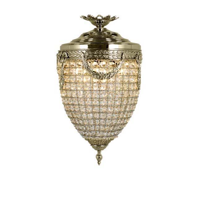 Купить Подвесной светильник Eichholtz Chandelier Emperor из металла и хрусталя, inmyroom, Нидерланды