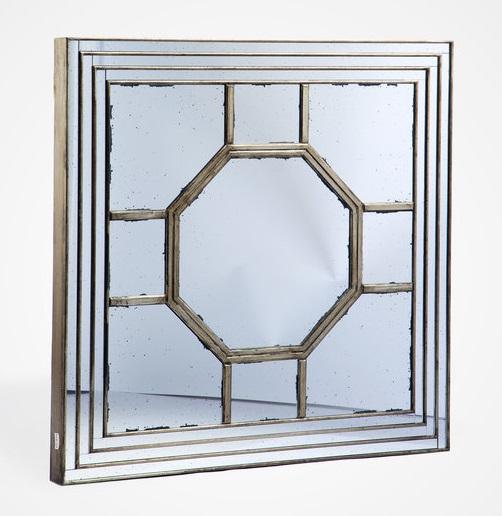 Купить Зеркало декоративное квадратной формы, inmyroom, Китай