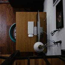 Фотография: Кабинет в стиле Скандинавский, Квартира, Студия, Проект недели, Мансарда, Сочи, Мария Панченко – фото на InMyRoom.ru