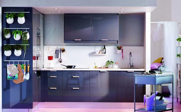 Фотография: Кухня и столовая в стиле Современный, Стиль жизни, Советы, Тема месяца, Кухонный фартук – фото на InMyRoom.ru