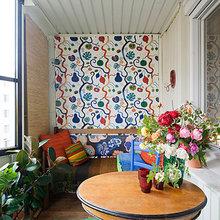 Фотография: Балкон в стиле Кантри, Квартира, Швеция, Дома и квартиры – фото на InMyRoom.ru