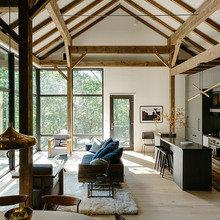Фото из портфолио Впечатляющий и супер эклектичный дом в долине Гудзона – фотографии дизайна интерьеров на InMyRoom.ru