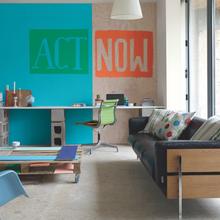 Фотография: Гостиная в стиле Современный, Декор интерьера, Дизайн интерьера, Цвет в интерьере, Dulux, Akzonobel – фото на InMyRoom.ru