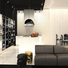 Фотография: Гостиная в стиле Лофт, Современный, Эклектика – фото на InMyRoom.ru